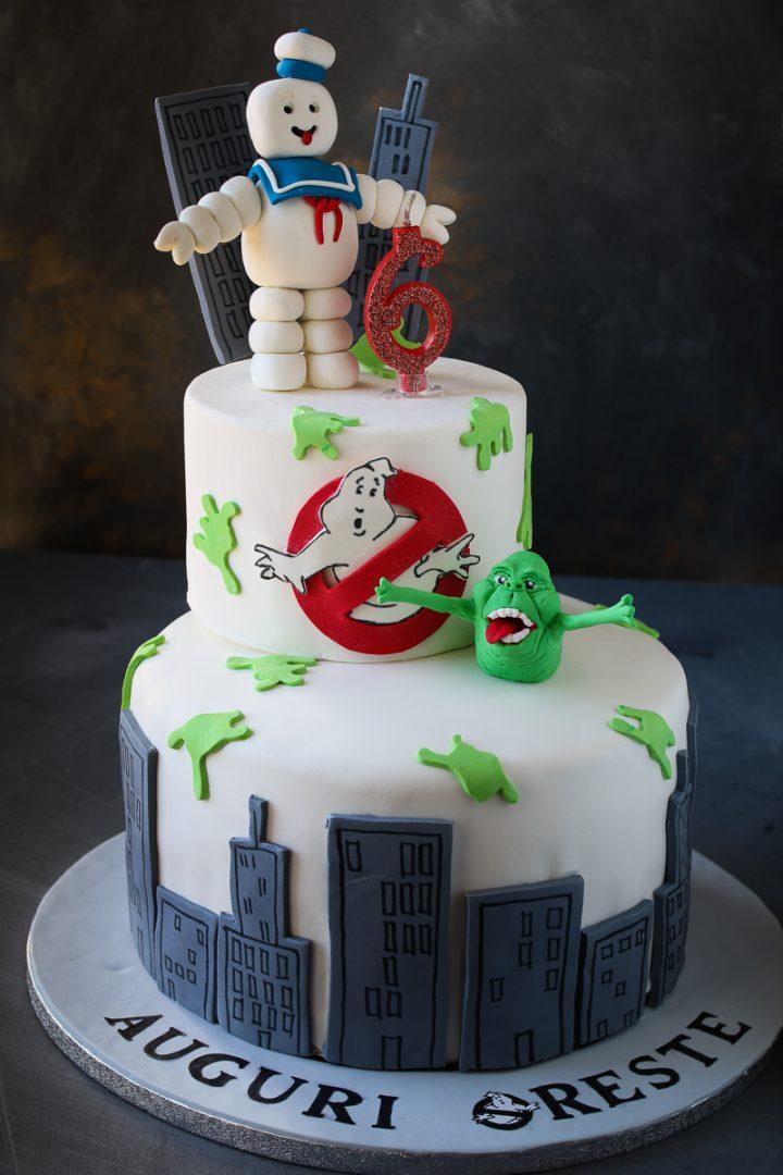 Ghostbusters in pasta di zucchero