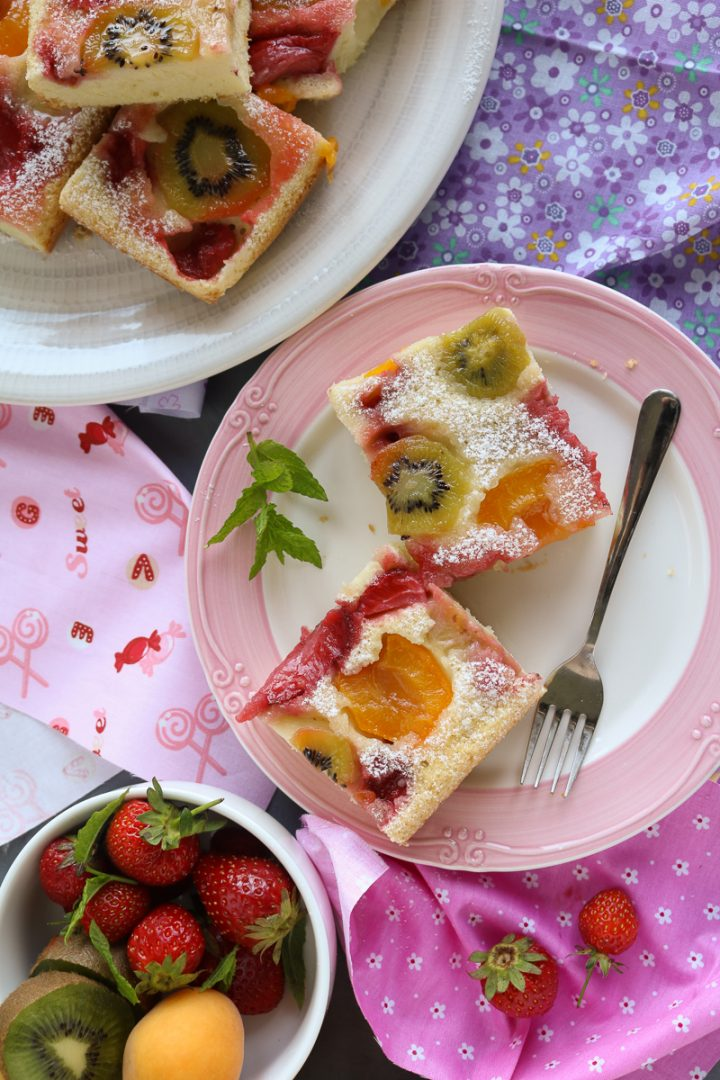 torta rovesciata alla frutta