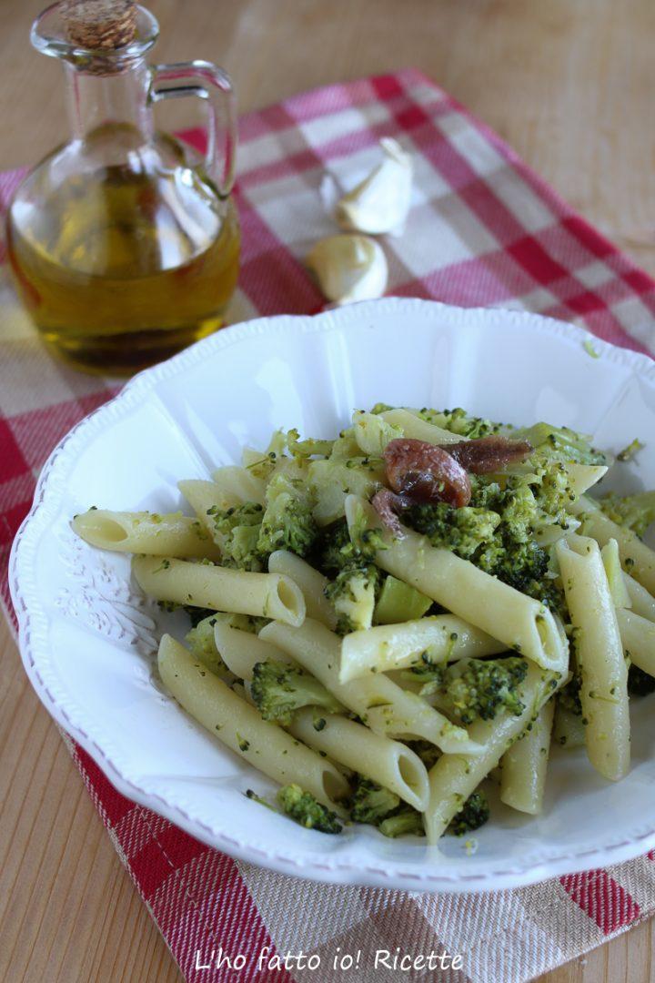pasta con i broccoli romani