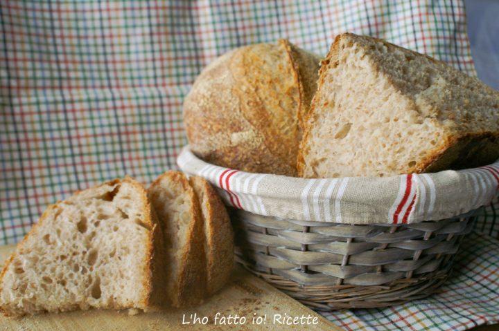 pane rustico con o senza sosta frigo