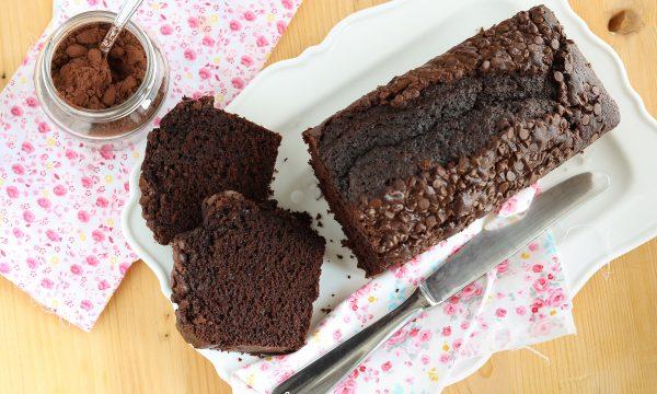 Plumcake al cacao cioccolatoso