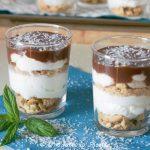 Monocheesecake al cocco e cioccolato
