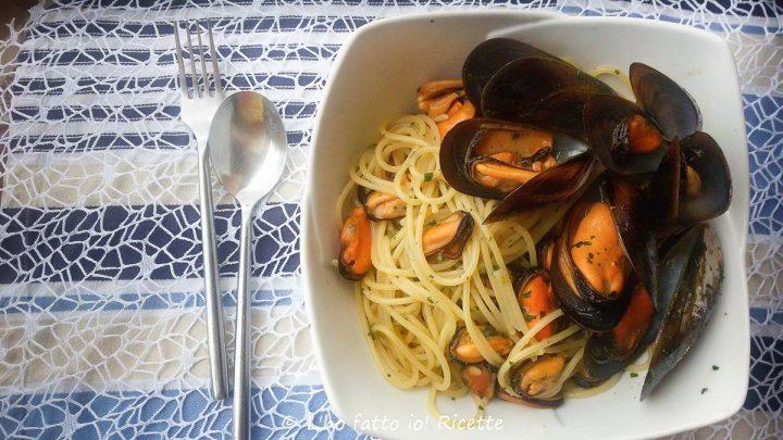 spaghetti con le cozze: