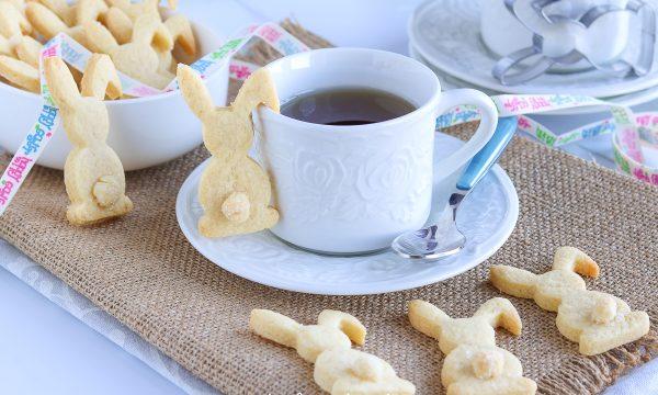 Biscotti Coniglietti di Pasqua da Tazza