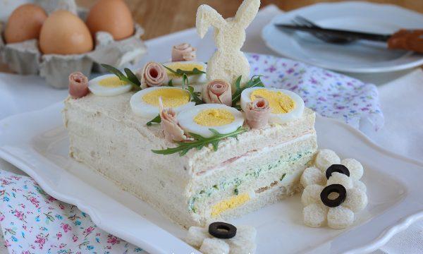 Torta Tramezzino salata da antipasto