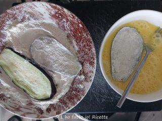 melanzane indorate e fritte