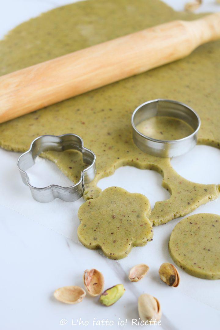 ricetta della pasta frolla al pistacchio