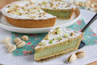 ricetta della torta della nonna al pistacchio