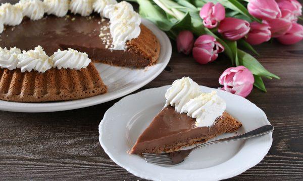Crostata morbida al cioccolato LINDT