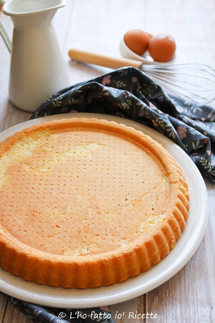 crostata o torta base morbida
