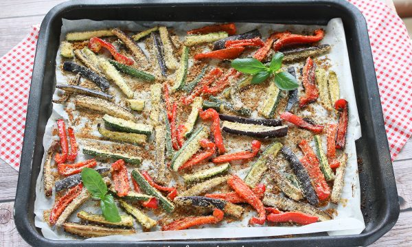 Stick di Verdure gratinate al forno