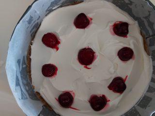 Cheesecake con le ciliegie senza cottura
