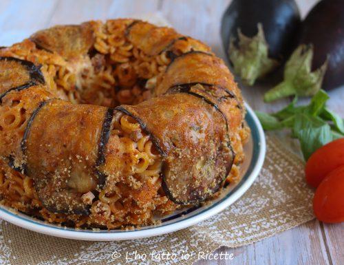 Anelletti alla Siciliana con melanzane