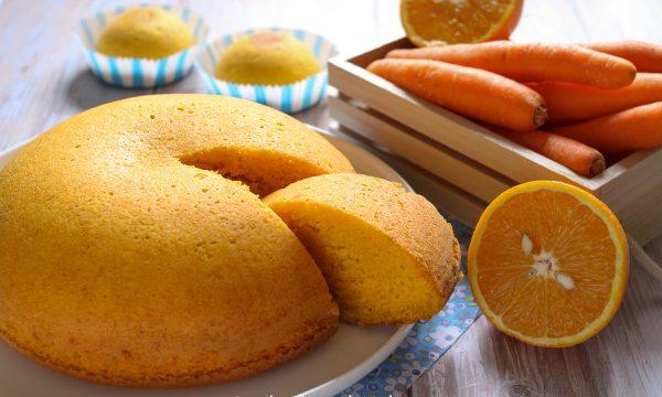 Torta Camilla alle carote e mandorle