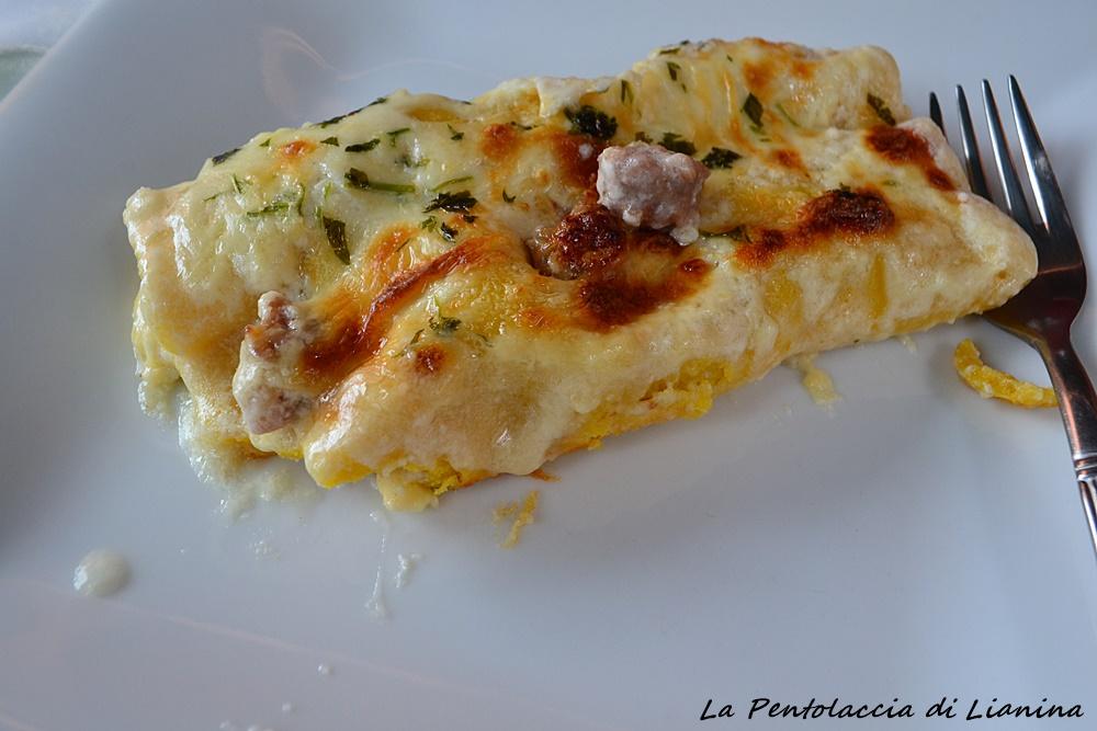 Cannelloni all'Etrusca