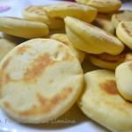 Bocconcini di pane in padella