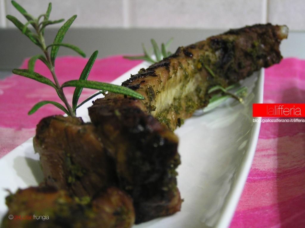 Costine di maiale aromatiche