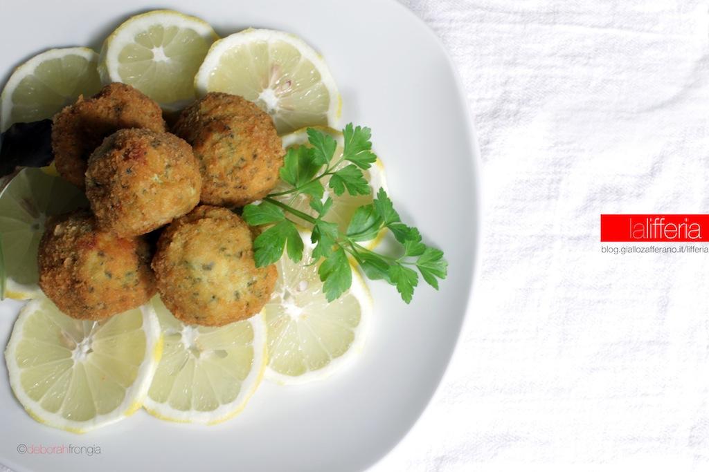 Polpette di pollo al limone