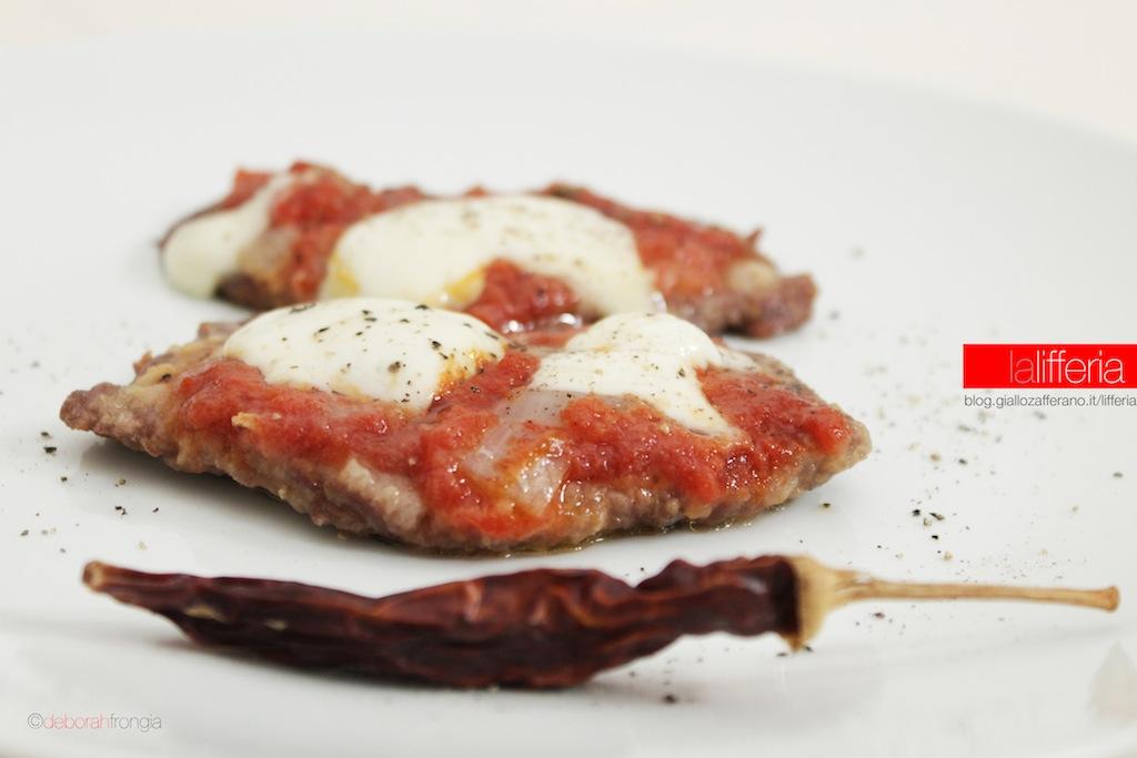 Bistecche alla pizzaiola