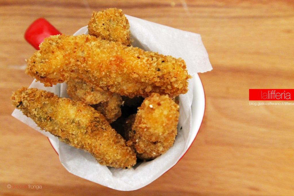 Stick di pollo al rosmarino