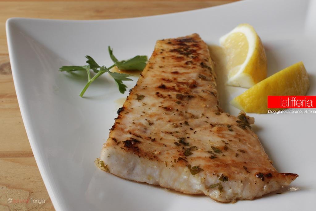 Ricette trancio pesce spada griglia