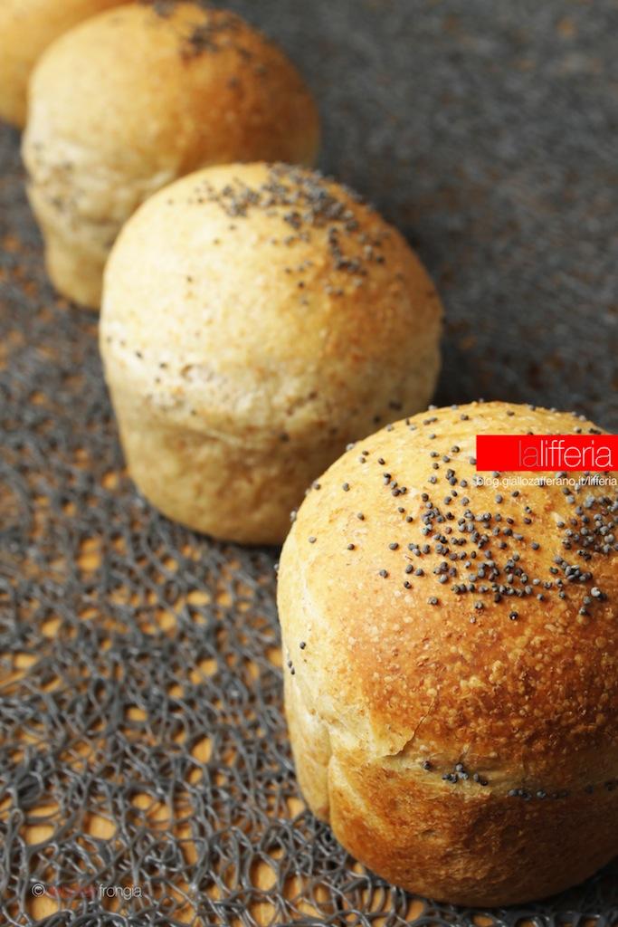 Conosciuto Bocconcini di pane integrale per mini hamburger LV16