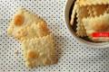 Crackers fatti in casa facili e veloci