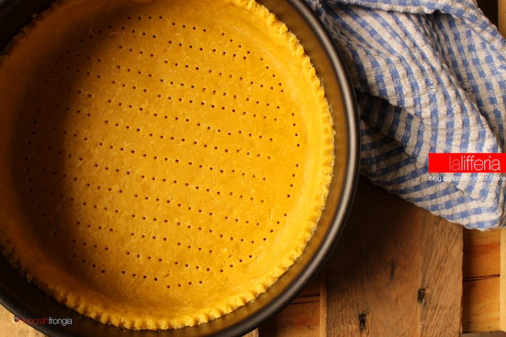 Pasta frolla morbida con i tuorli