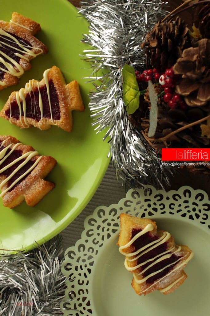 Alberelli di Natale al melograno