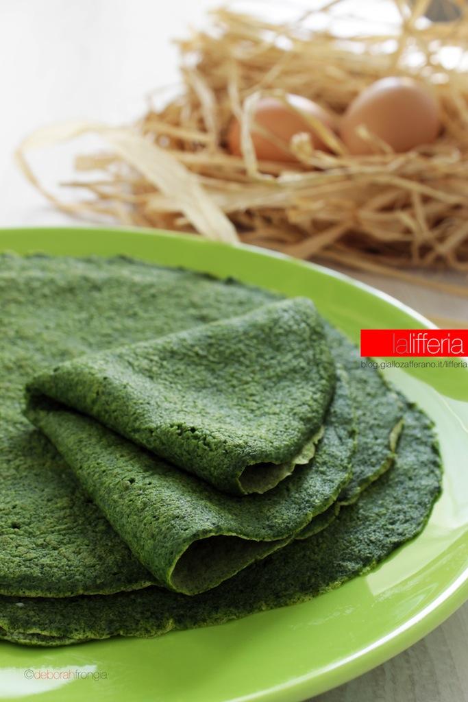 Crepes agli spinaci
