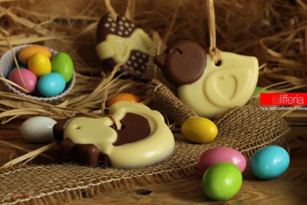 Dolcetti di Pasqua al cioccolato