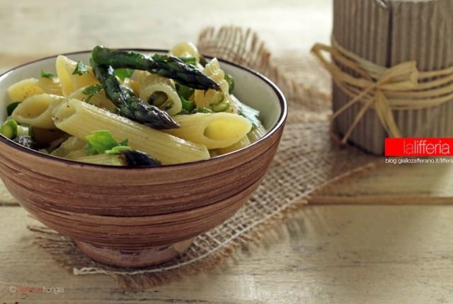 Pasta con asparagi e Parmigiano Reggiano