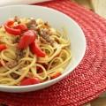 Pasta con salsiccia e peperoni