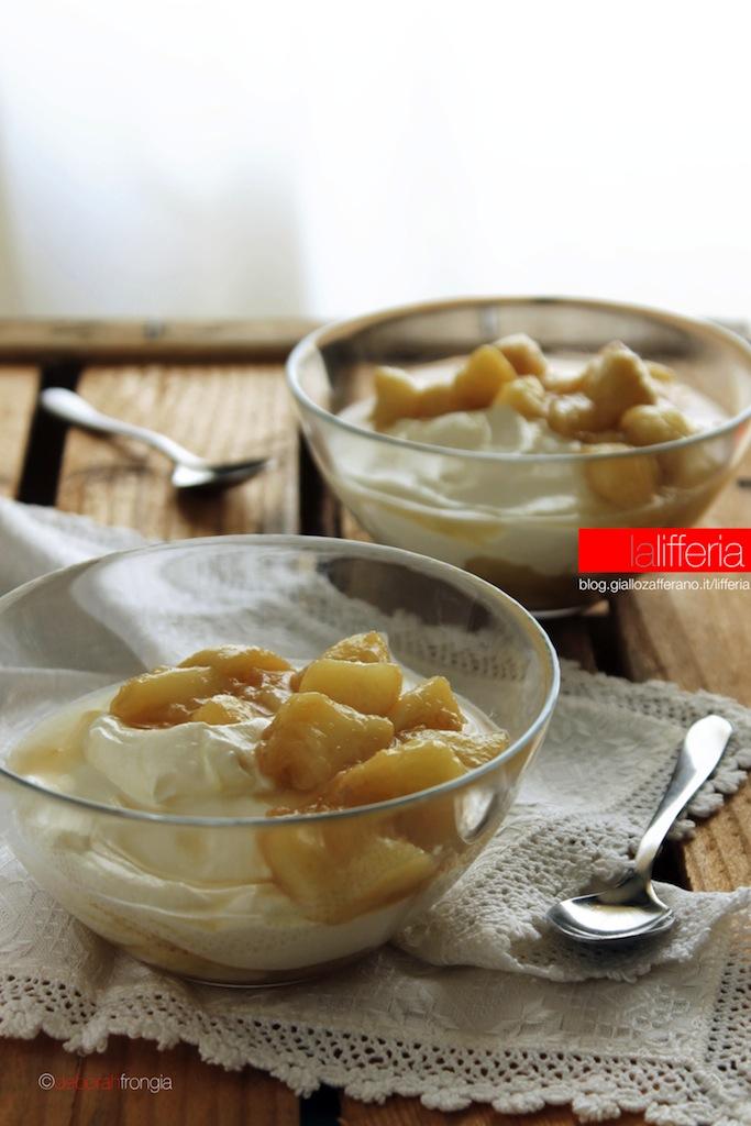 Dessert alle pesche senza uova