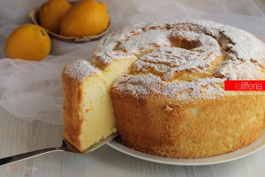 Chiffon cake al limone alta e sofficissima for Tiffany sito americano