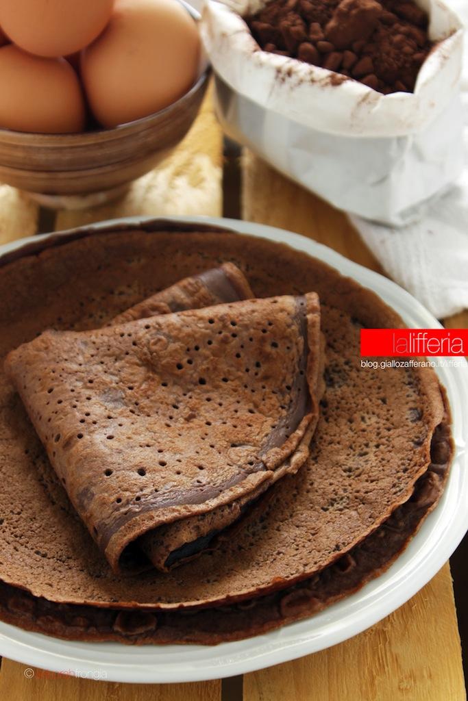 Crepes al cacao