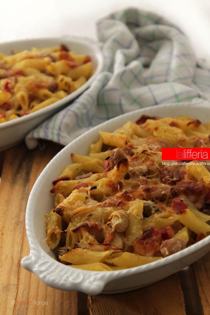 Pasta Al Forno Funghi E Pancetta Ricetta Primo Piatto | Review Ebooks