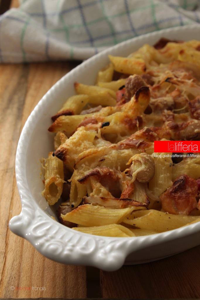 Pasta Al Forno With Pumpkin And Pancetta Recipe — Dishmaps