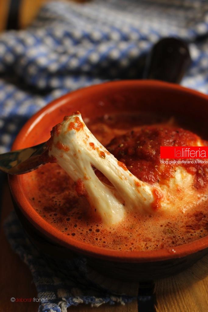 Mozzarella in umido