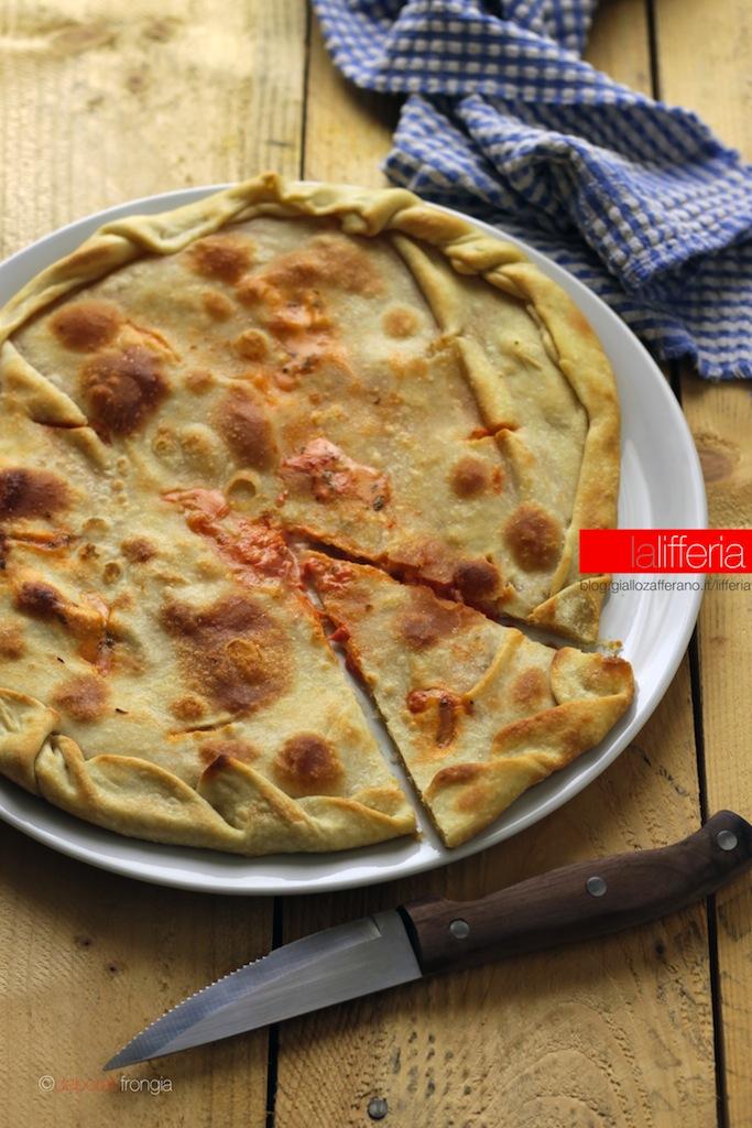 Focaccia alla pizzaiola senza lievito