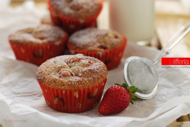 Muffin con fragole e cannella - Ricetta veloce