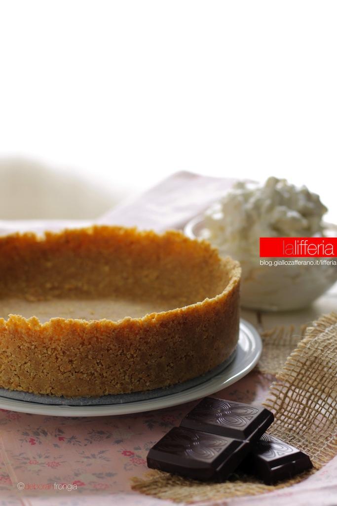 Crostata senza cottura, base per torte fredde
