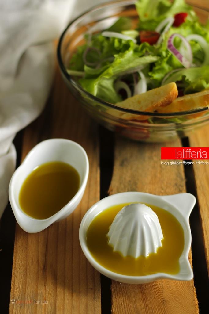Vinaigrette e citronette, condimenti per insalate