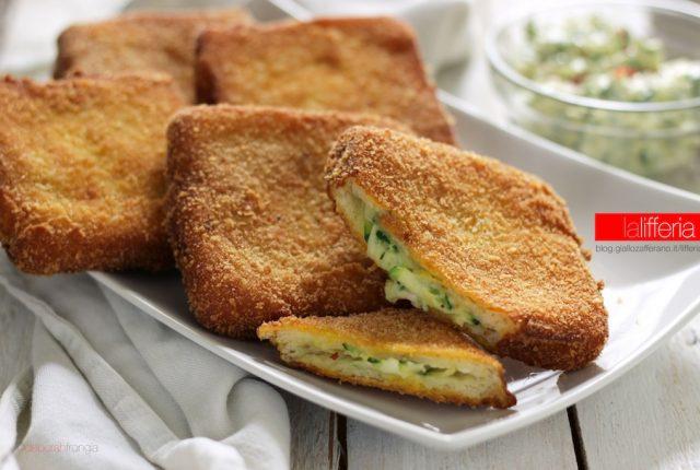 zucchine cremose in carrozza - Idee con le zucchine