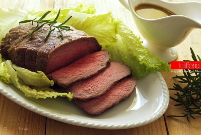 Roast beef inglese fatto in casa