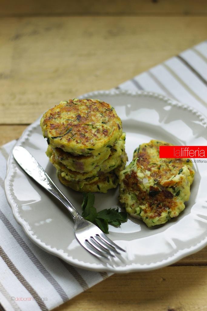 Polpette con zucchine e Parmigiano Reggiano