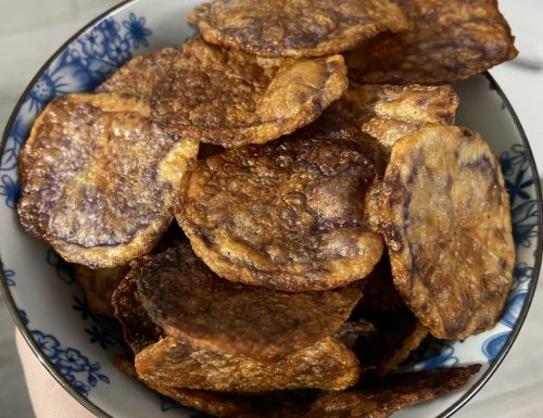 Cips di patate viola
