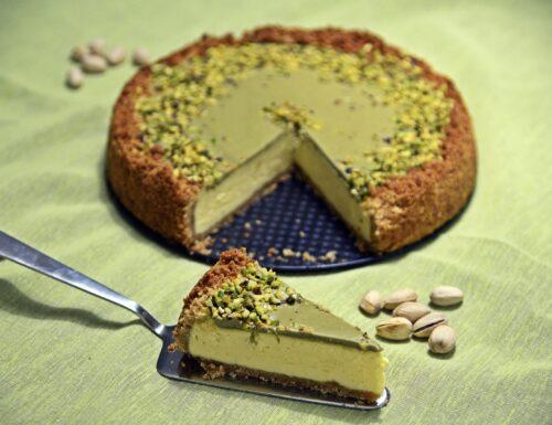 Cheesecake cotta al pistacchio