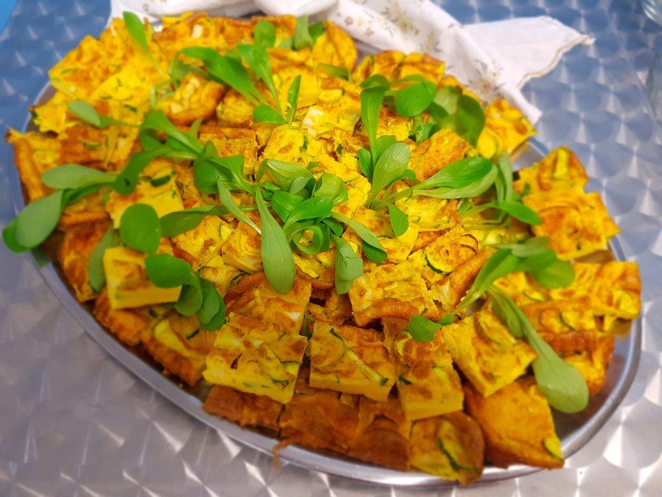 frittata porro e zucchine