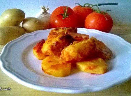 Baccalà con patate alla Fiorentina